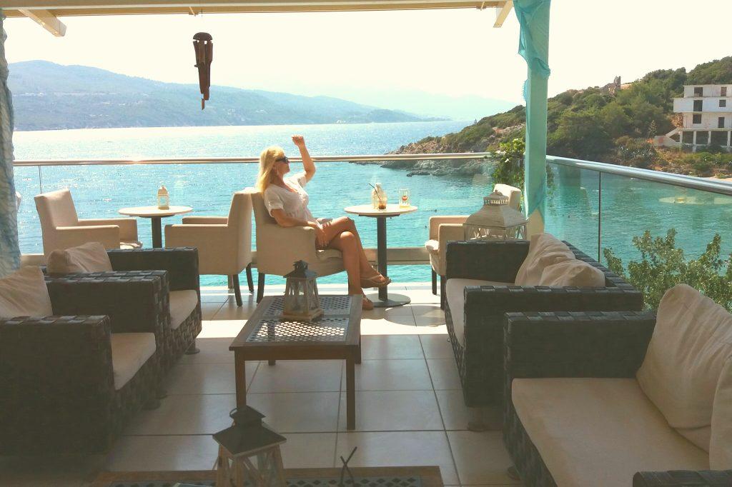 Grčko ostrvo Samos nalazi se u Egejskom moru