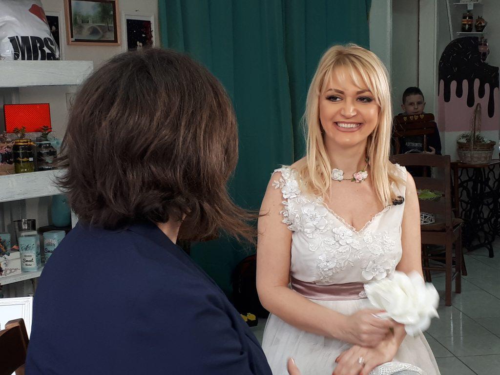 Pukom slučajnošću u Uskršnjoj emisiji kod Katarine Radović završih u - venčanici