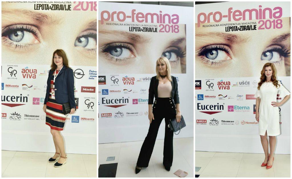 Lidija Ćulibrk, urednica Lepote i Zdravlja, moja malenkost i Milica Đokić, direktorica izdanja