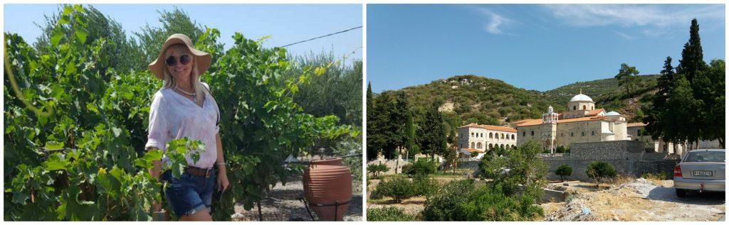 Manastir Časnog Krsta na ostrvu Samos